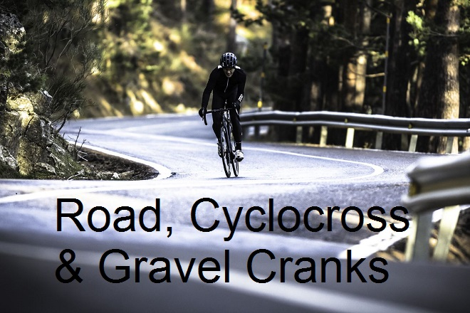 Road Cyclocross and Gravel cranks